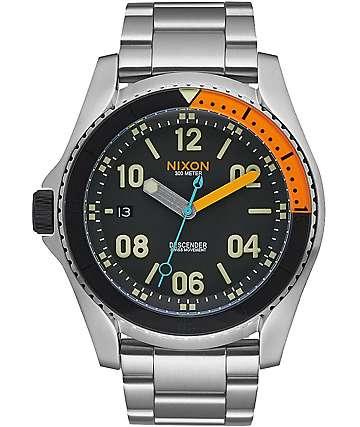 Nixon Descender Black & Multi Watch