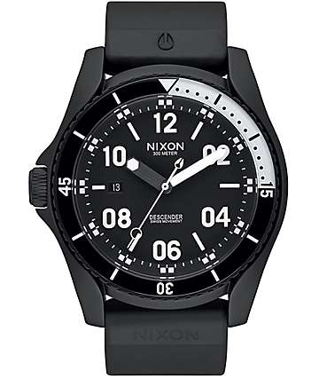 Nixon Descender Sport All Black Watch