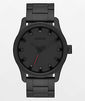 Nixon Driver reloj en todo negro
