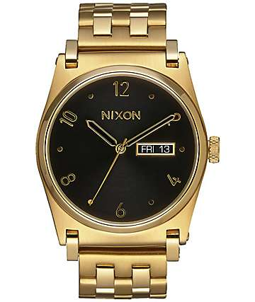 Nixon Jane All Gold & Black Watch