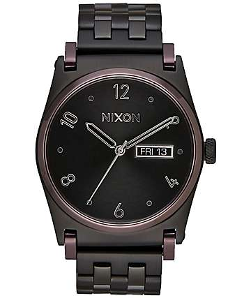 Nixon Jane Black & Plum Watch