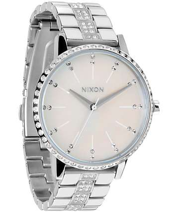 Nixon Kensington Crystal Analog Watch