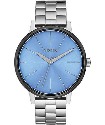 Nixon Kensington Silver & Sky Watch