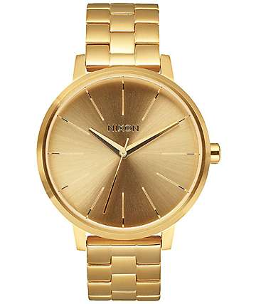 Nixon Kensington reloj analógico en color oro