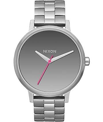 Nixon Kensington reloj analógico espejo en plata