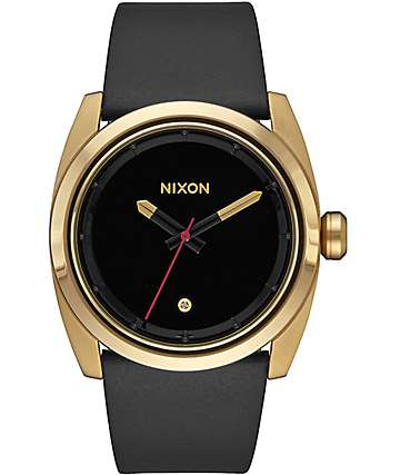 Nixon Kingpin Leather Black Watch
