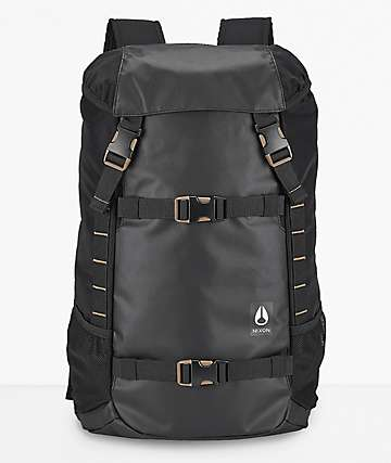 Nixon Landlock II All Black 33L Backpack