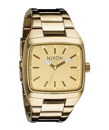 Nixon Manual II All Gold Mens Analog Watch