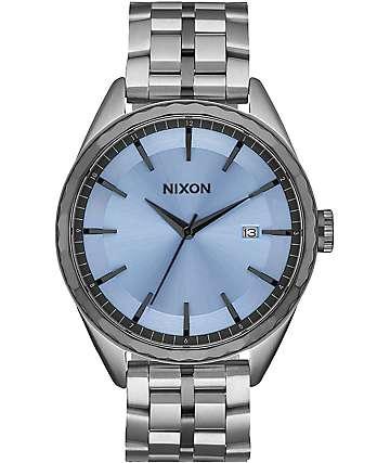 Nixon Minx Silver & Sky Watch