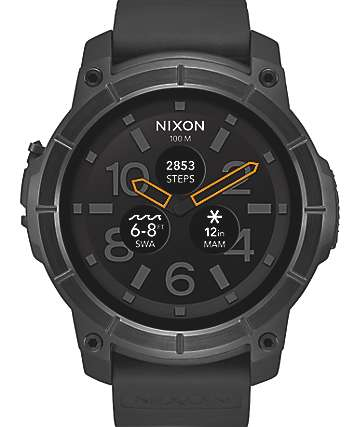 Nixon Mission All Black Analog Watch