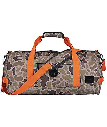Nixon Pipes Camo 32L Duffle Bag