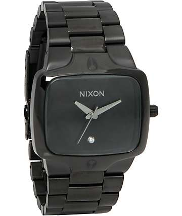 Nixon Player All Black Analog Watch
