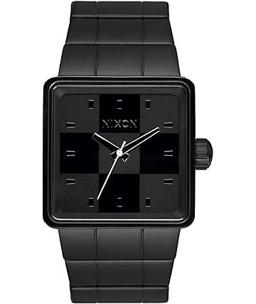 Nixon Quatro All Black Analog Watch