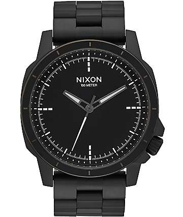 Nixon Ranger Ops All Black Watch