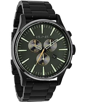 Nixon Sentry Chronograph Analog Watch
