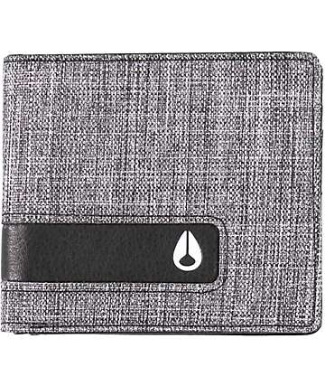 Nixon Showoff Washed Black Bifold Wallet