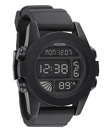 Nixon The Unit reloj digital negro