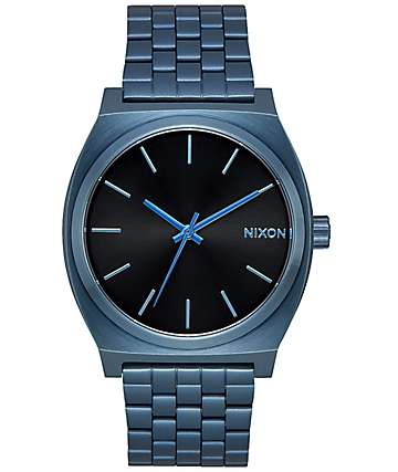 Nixon Time Teller 37 Blue Sunray Watch
