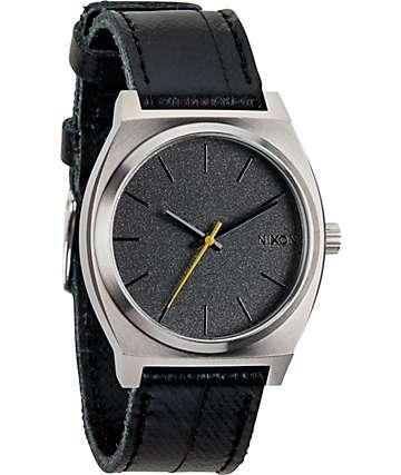 Nixon Time Teller Black Tape Analog Watch