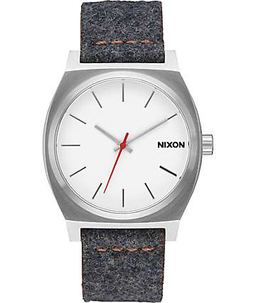Nixon Time Teller Grey & Tan Watch