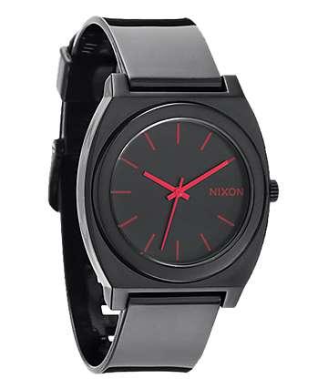 Nixon Time Teller P Black & Pink Analog Watch