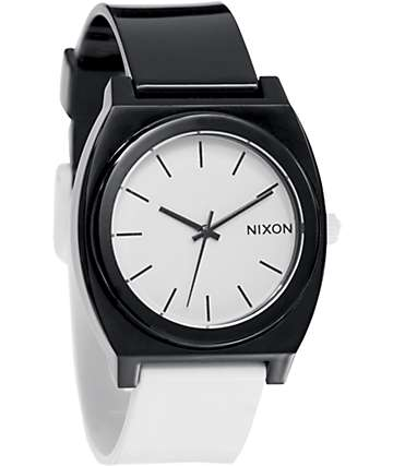 Nixon Time Teller P Black & White Analog Watch