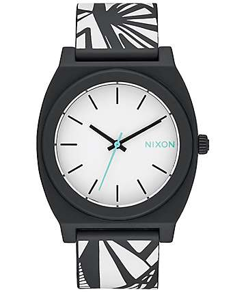 Nixon Time Teller P Black and Bleach Watch