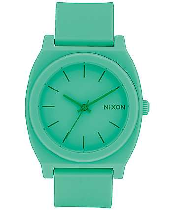 Nixon Time Teller P Matte Spearmint Analog Watch