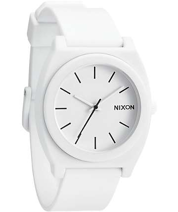 Nixon Time Teller P reloj blanco mate