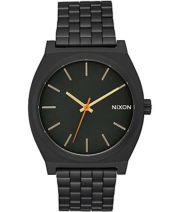 Nixon Time Teller Surplus reloj negro