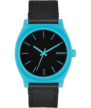 Nixon Time Teller reloj analógico en azul y negro