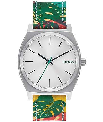 Nixon Time Teller reloj multicoloreado analógico