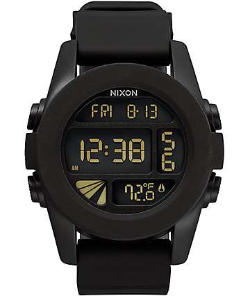 Nixon Unit Black HP Digital Watch