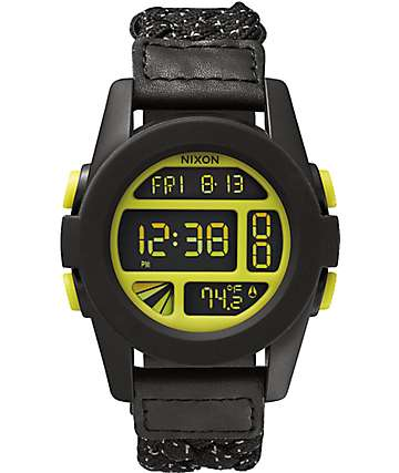 Nixon Unit Woven Digital Watch