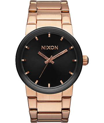 Nixon x Primitive Cannon Rose Gold Analog Watch