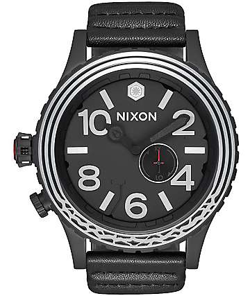 Nixon x Star Wars 51-30 Kylo Leather Black Watch