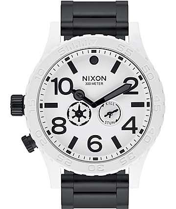 Nixon x Star Wars 51-30 Stormtrooper Watch
