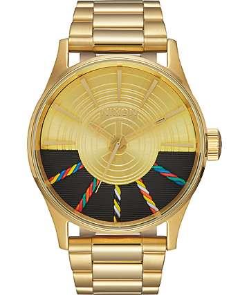 Nixon x Star Wars Sentry SS C-3PO Gold Watch
