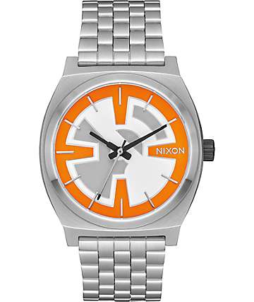Nixon x Star Wars Time Teller BB-8 Orange & Black Watch