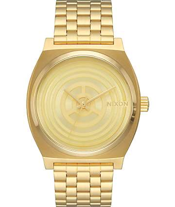 Nixon x Star Wars Time Teller C-3PO Gold Watch