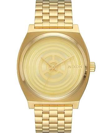 Nixon x Star Wars Time Teller C-3PO Gold Watch
