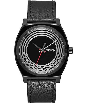 Nixon x Star Wars Time Teller Leather Kylo Black Watch