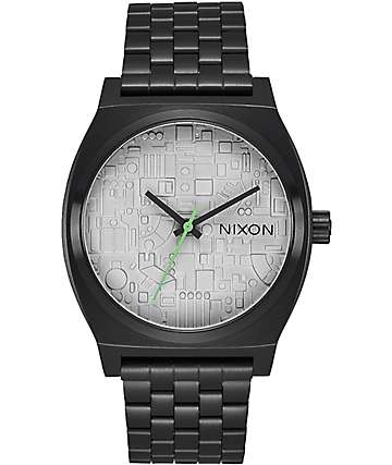 Nixon x Star Wars Timeteller Death Star Analog Watch