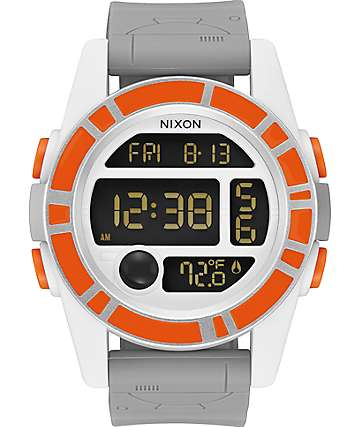 Nixon x Star Wars Unit SW BB-8 Orange & Black Watch