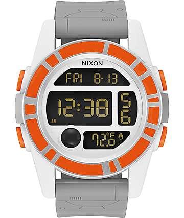 Nixon x Star Wars Unit SW BB-8 reloj naranja y negro