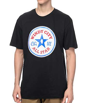 No Coast Clothing All Star IL Black T-Shirt