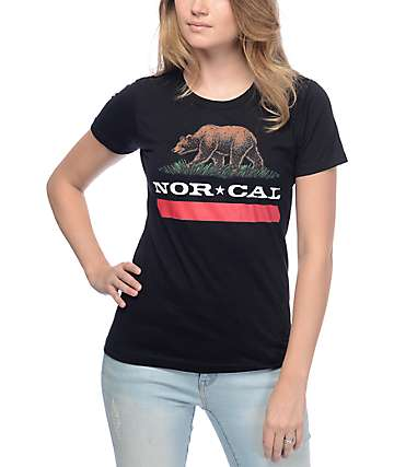 Nor Cal New Republic Black T-Shirt