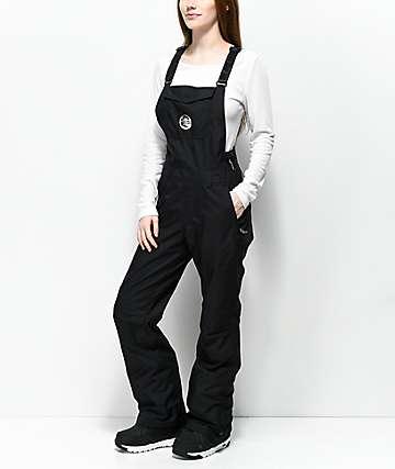 O'Neill 88' Shred Black 10K Snowboard Bib Pants