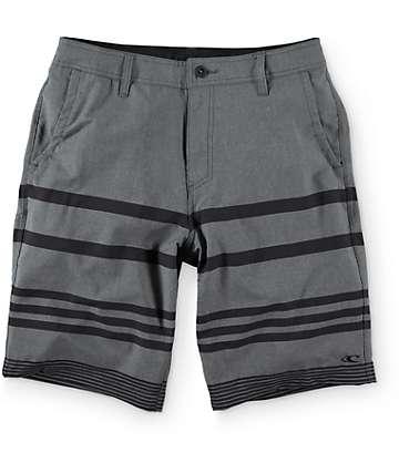 """O'Neill Streaker Charcoal 21"""" Hybrid Shorts"""