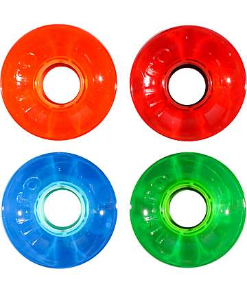 OJ Hot Juice Candy Trans 60mm Skateboard Wheels